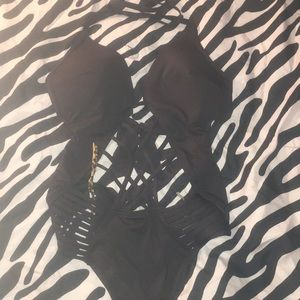Sexy Woman's One Piece Bathing Suit